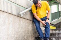 Knieschmerzen beim Treppensteigen abwärts: Häufige Ursachen und was man jetzt tun sollte ( Foto: Shutterstock- ThamKC )